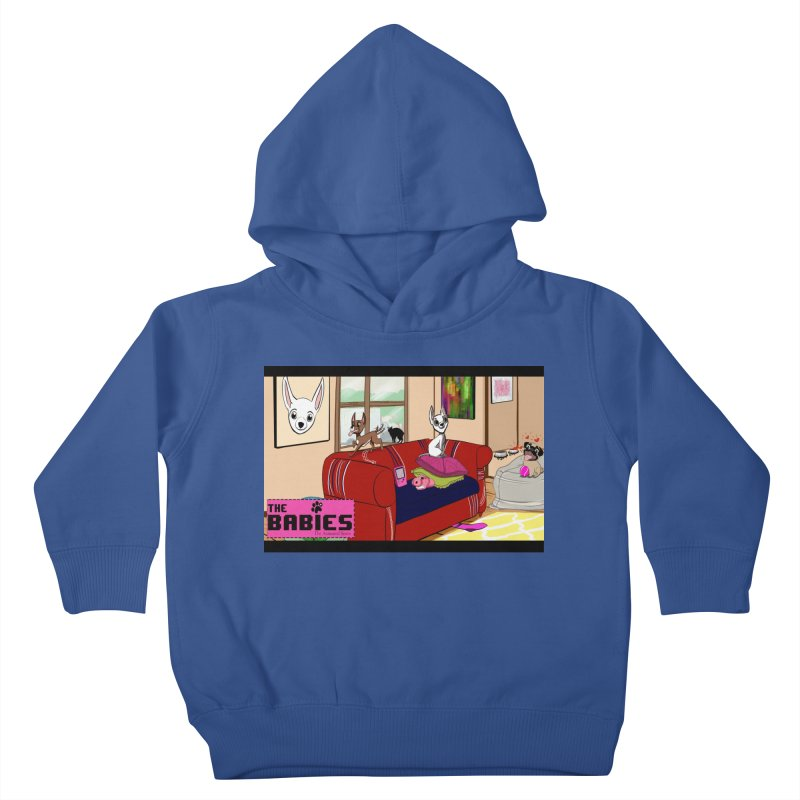 The Babies Animated Series  Kids Toddler Pullover Hoody by Bad Date Kate's Artist Shop