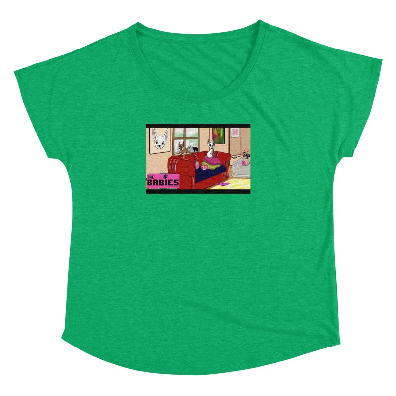 The Babies Animated Series  Women's Dolman by Bad Date Kate's Artist Shop
