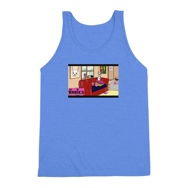 The Babies Animated Series  Men's Triblend Tank by Bad Date Kate's Artist Shop