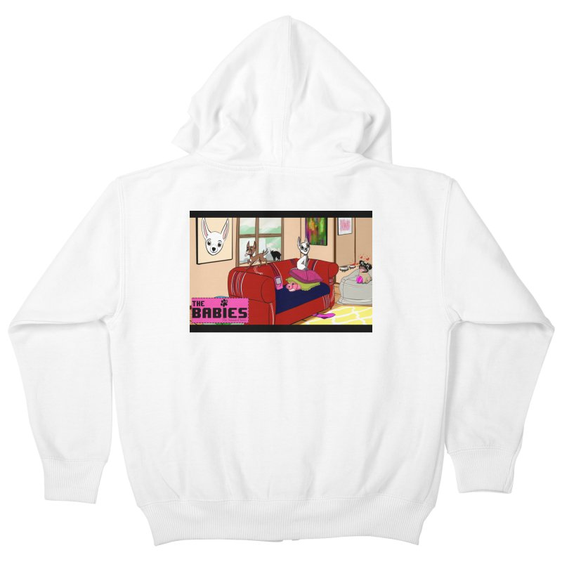 The Babies Animated Series  Kids Zip-Up Hoody by Bad Date Kate's Artist Shop