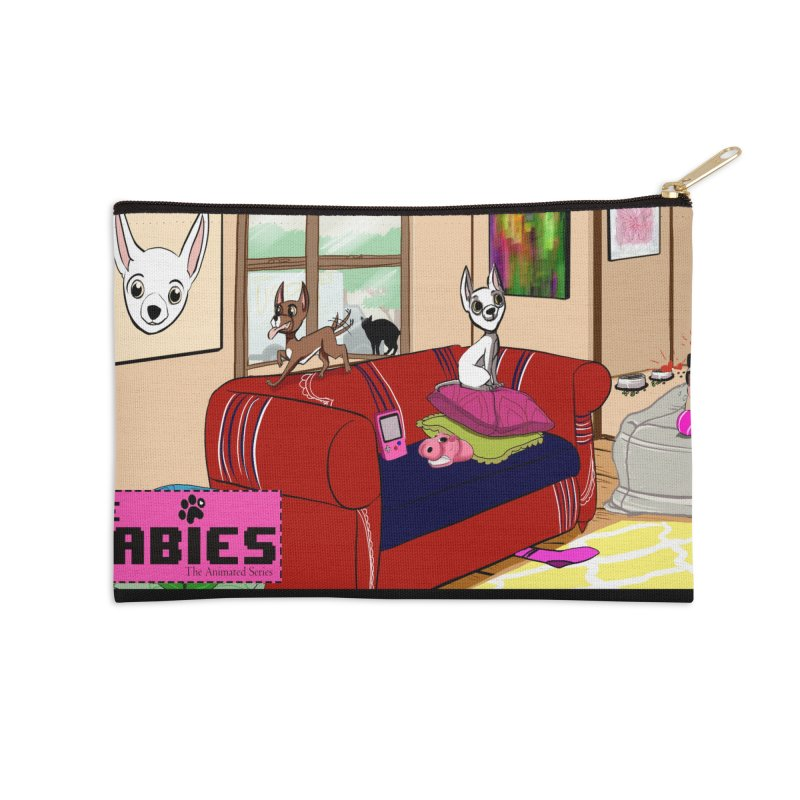 The Babies Animated Series  Accessories Zip Pouch by Bad Date Kate's Artist Shop
