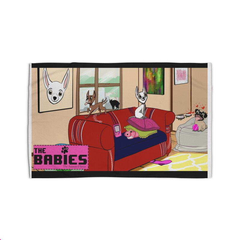 The Babies Animated Series  Home Rug by Bad Date Kate's Artist Shop