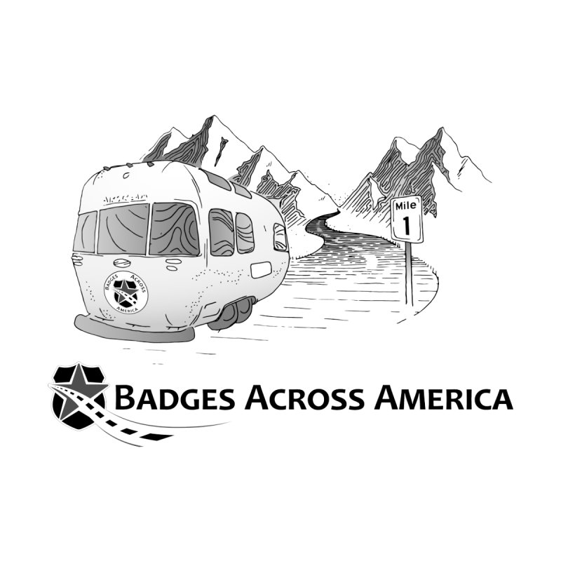 Badges Across America Mile 1 by Badges Across America's Swag Shop