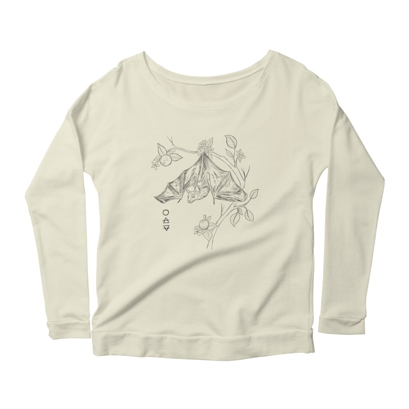Air Spirit Women's Scoop Neck Longsleeve T-Shirt by badgirlsadgirl's Artist Shop