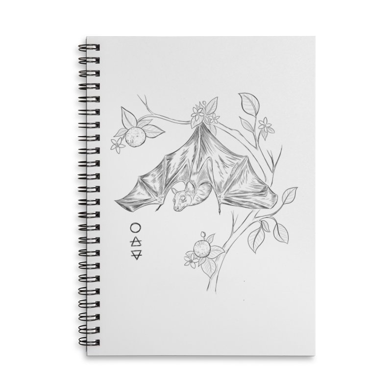 Air Spirit Accessories Lined Spiral Notebook by Bad Girl/Sad Girl