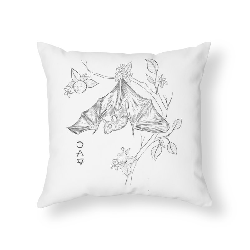Air Spirit Home Throw Pillow by badgirlsadgirl's Artist Shop