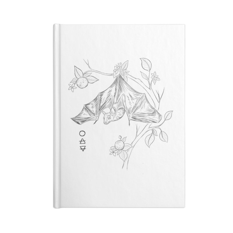 Air Spirit Accessories Lined Journal Notebook by Bad Girl/Sad Girl