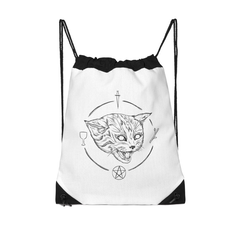 Mewgickal Accessories Drawstring Bag Bag by Bad Girl/Sad Girl