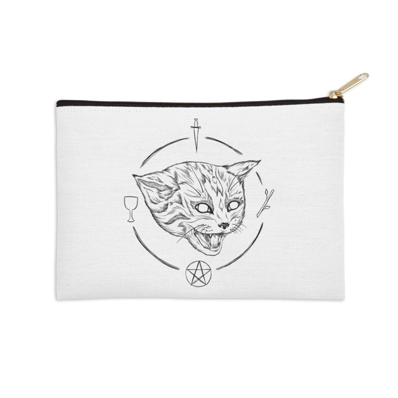 Mewgickal Accessories Zip Pouch by Bad Girl/Sad Girl