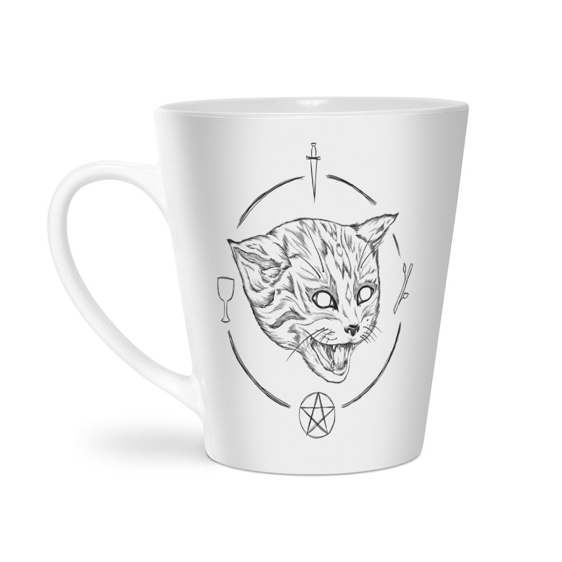 Mewgickal Accessories Latte Mug by badgirlsadgirl's Artist Shop