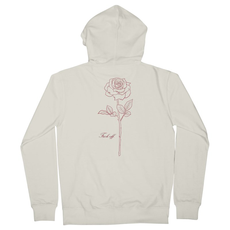 By any other name.. Women's French Terry Zip-Up Hoody by Bad Girl/Sad Girl