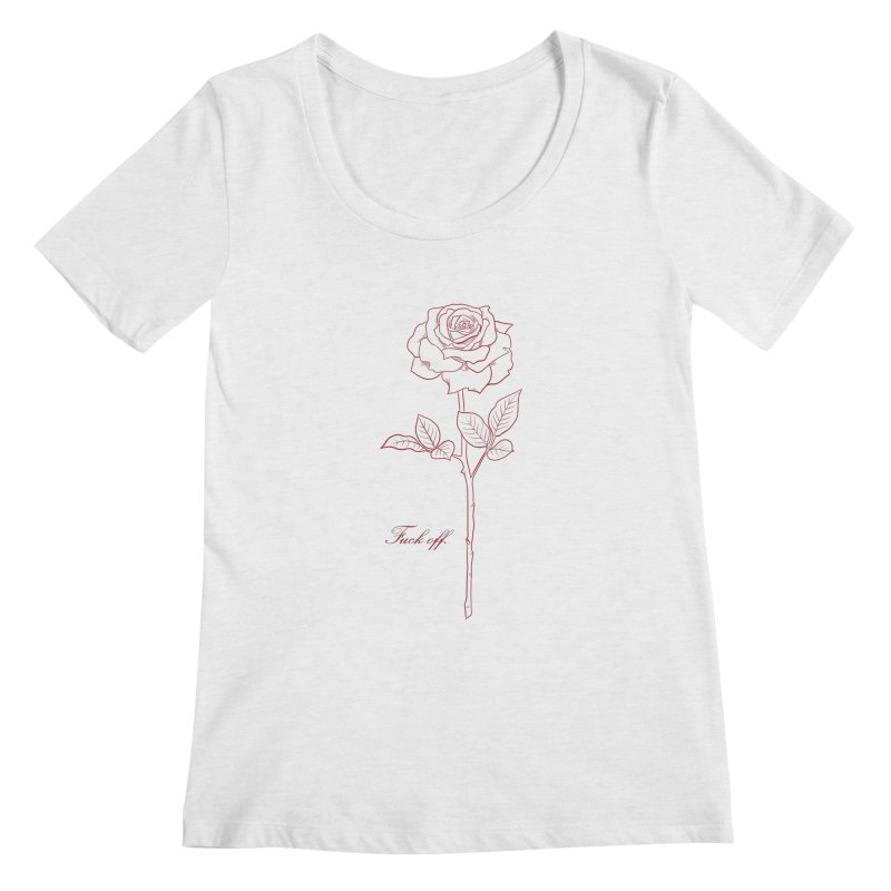 By any other name.. Women's Regular Scoop Neck by badgirlsadgirl's Artist Shop