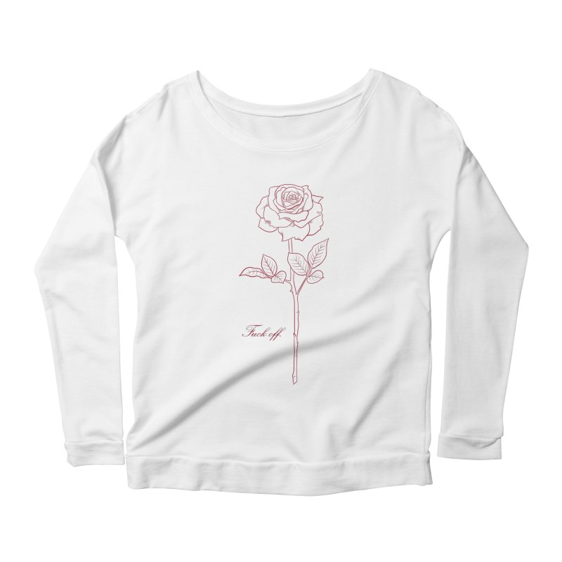 By any other name.. Women's Scoop Neck Longsleeve T-Shirt by badgirlsadgirl's Artist Shop