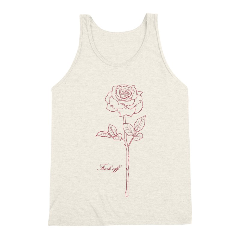 By any other name.. Men's Triblend Tank by Bad Girl/Sad Girl