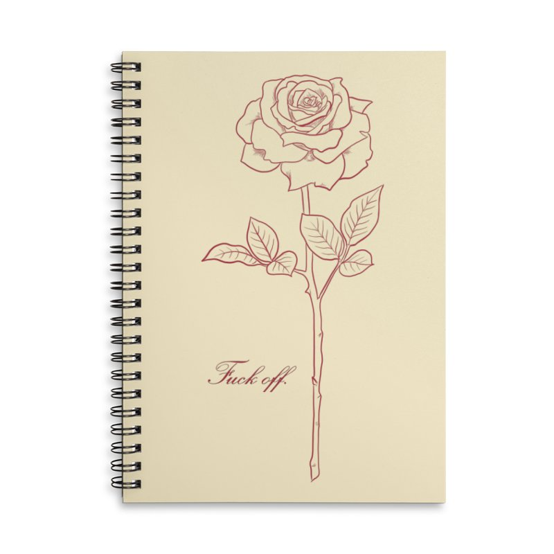 By any other name.. Accessories Lined Spiral Notebook by Bad Girl/Sad Girl