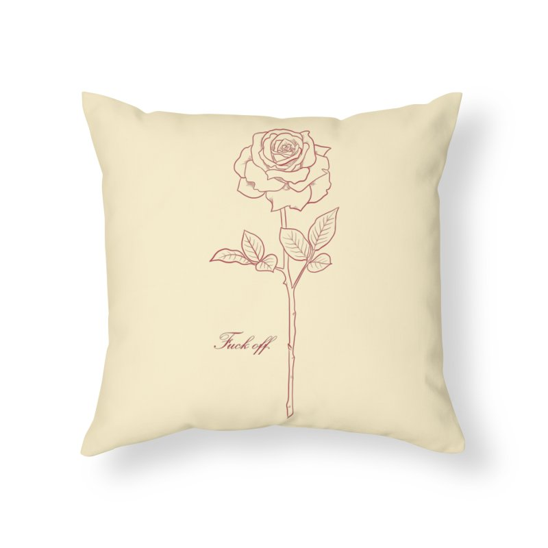 By any other name.. Home Throw Pillow by badgirlsadgirl's Artist Shop