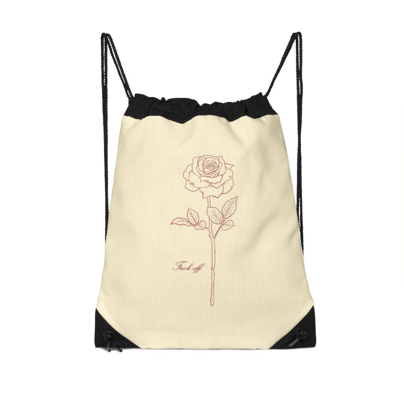 By any other name.. Accessories Drawstring Bag Bag by Bad Girl/Sad Girl