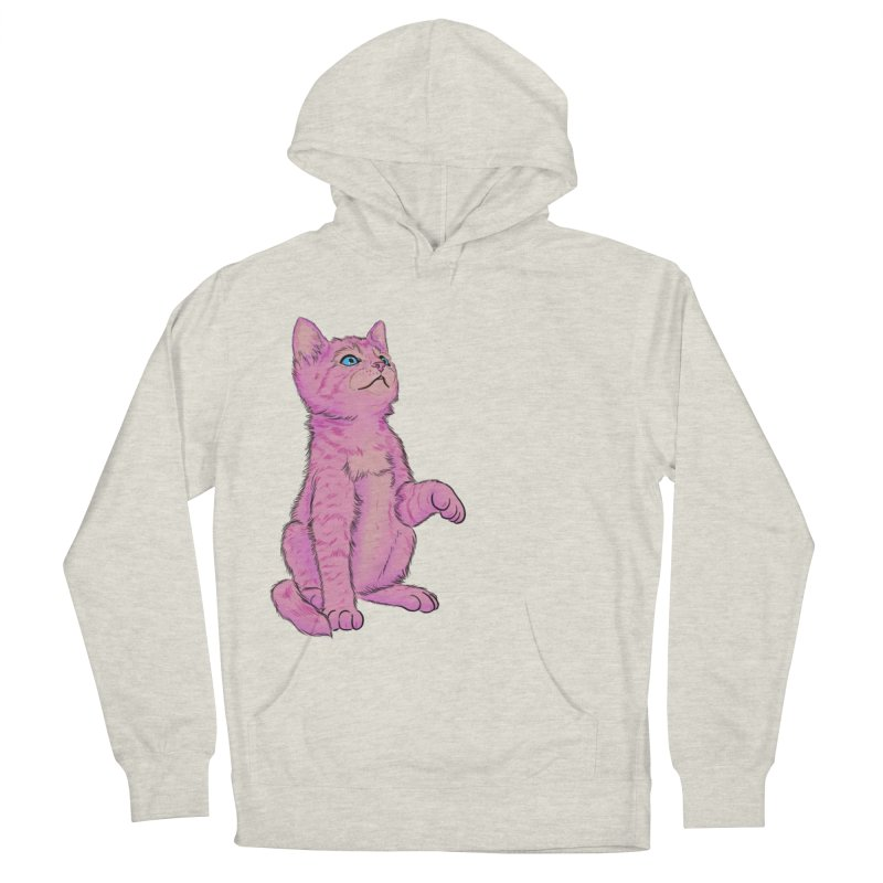 baby meow Women's French Terry Pullover Hoody by Bad Girl/Sad Girl