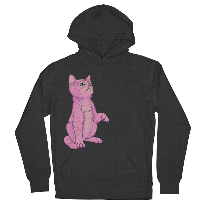 baby meow Men's French Terry Pullover Hoody by Bad Girl/Sad Girl