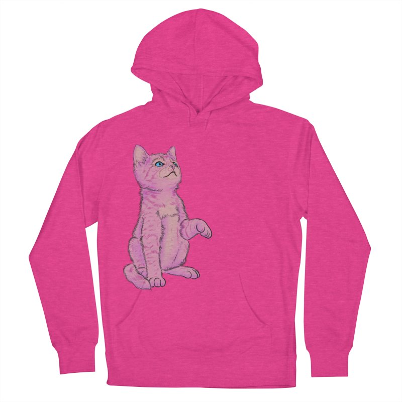 baby meow Men's French Terry Pullover Hoody by badgirlsadgirl's Artist Shop