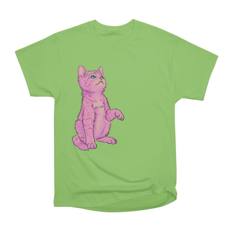 baby meow Women's Heavyweight Unisex T-Shirt by Bad Girl/Sad Girl