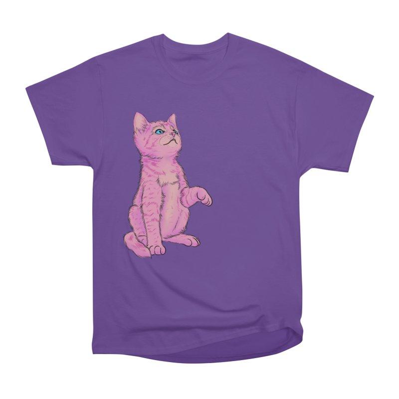 baby meow Men's Heavyweight T-Shirt by badgirlsadgirl's Artist Shop