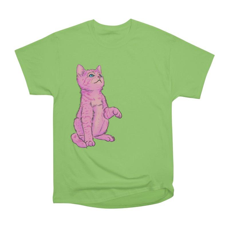 baby meow Men's Heavyweight T-Shirt by Bad Girl/Sad Girl