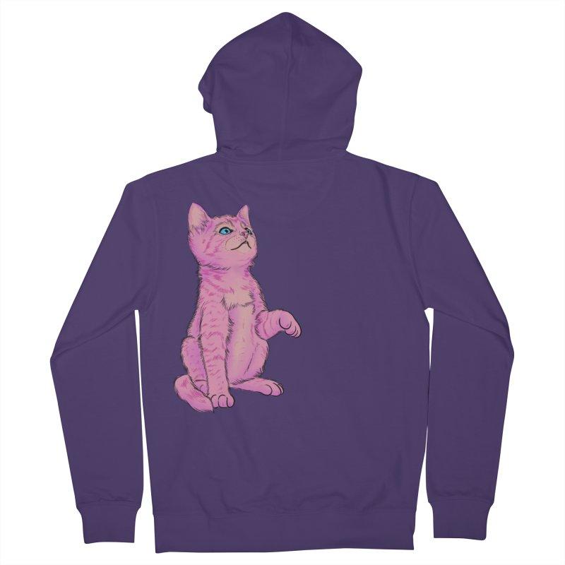 baby meow Women's Zip-Up Hoody by Bad Girl/Sad Girl