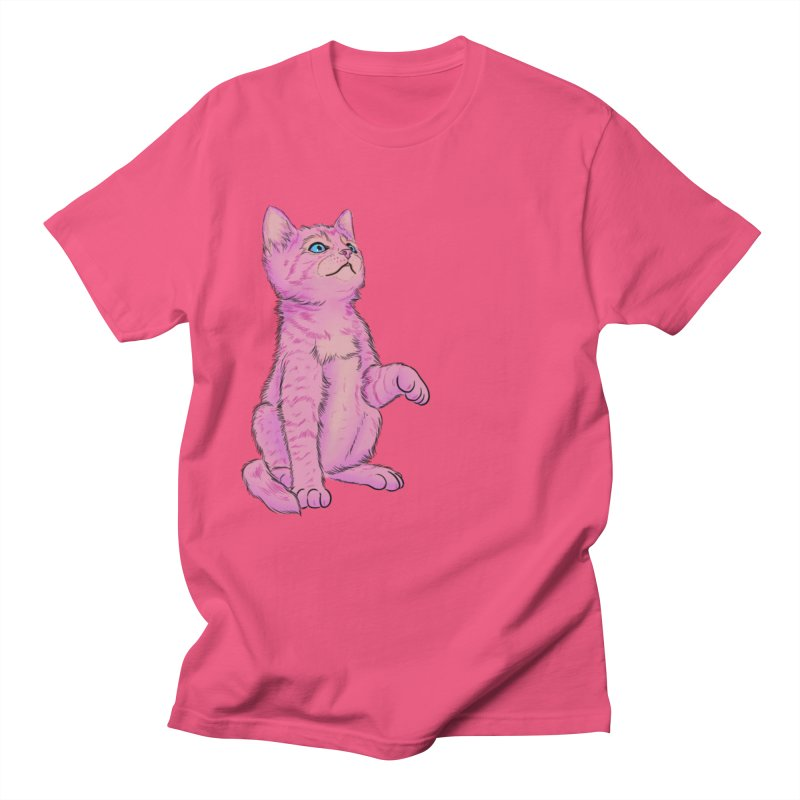 baby meow Women's Regular Unisex T-Shirt by badgirlsadgirl's Artist Shop