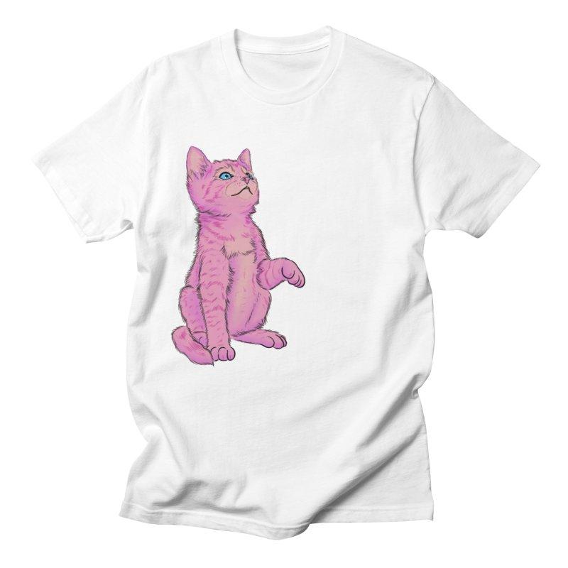 baby meow Men's Regular T-Shirt by badgirlsadgirl's Artist Shop