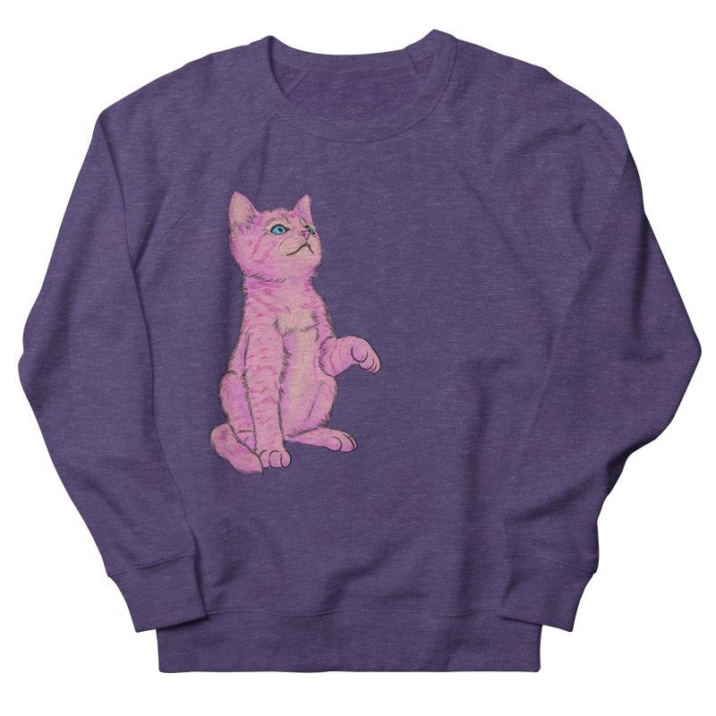 baby meow Women's French Terry Sweatshirt by Bad Girl/Sad Girl