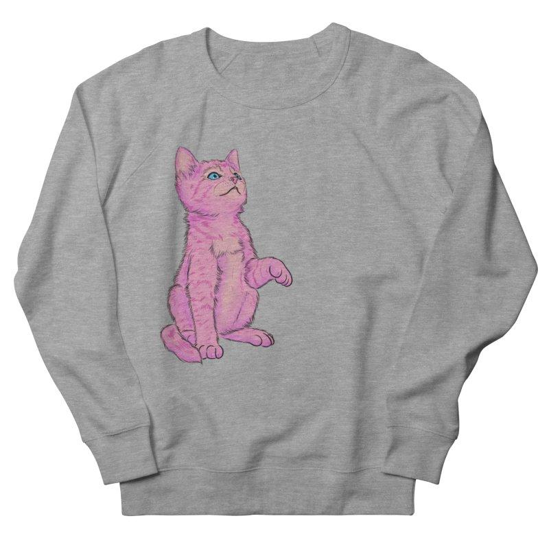 baby meow Women's French Terry Sweatshirt by badgirlsadgirl's Artist Shop