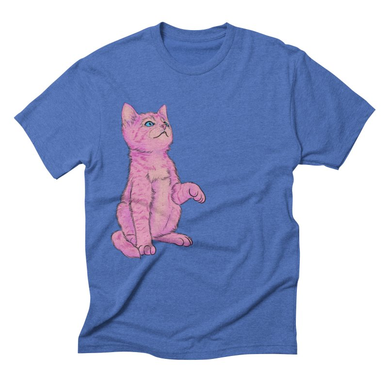 baby meow Men's Triblend T-Shirt by Bad Girl/Sad Girl