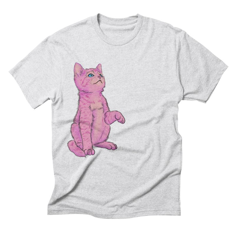 baby meow Men's Triblend T-Shirt by Bad Girl/Sad Girl