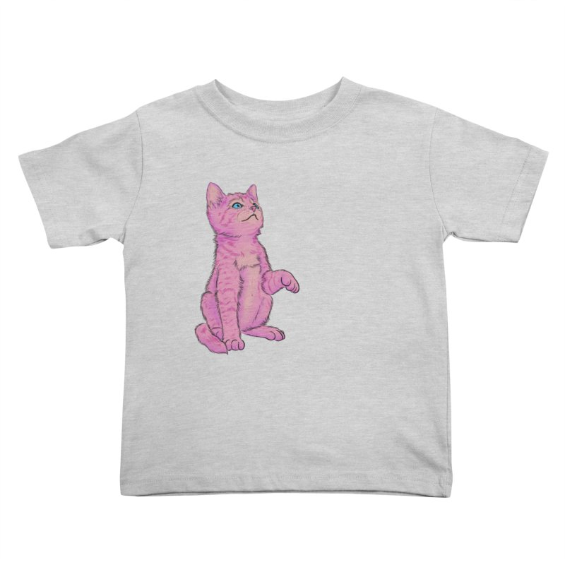 baby meow Kids Toddler T-Shirt by badgirlsadgirl's Artist Shop