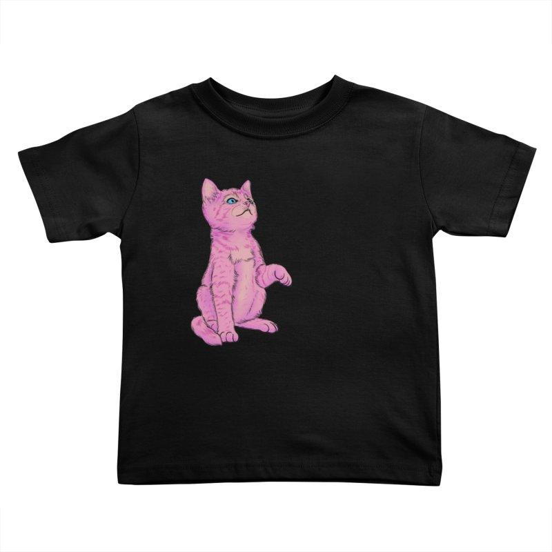 baby meow Kids Toddler T-Shirt by Bad Girl/Sad Girl