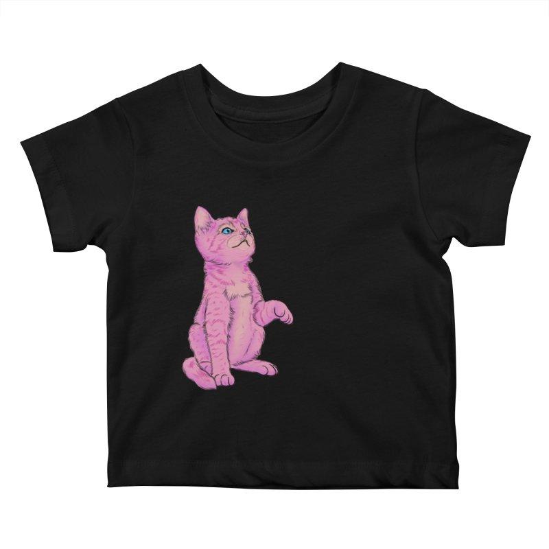 baby meow Kids Baby T-Shirt by Bad Girl/Sad Girl