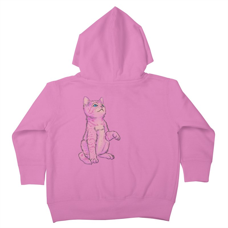 baby meow Kids Toddler Zip-Up Hoody by Bad Girl/Sad Girl