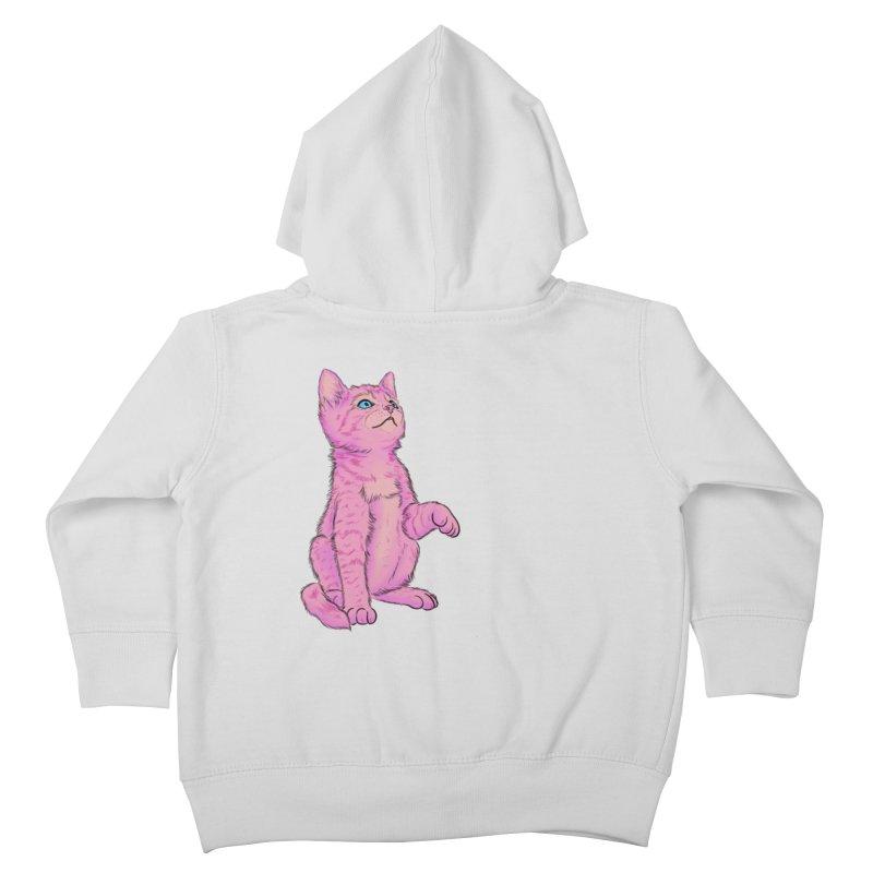 baby meow Kids Toddler Zip-Up Hoody by badgirlsadgirl's Artist Shop