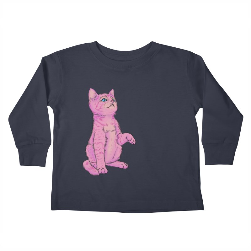 baby meow Kids Toddler Longsleeve T-Shirt by Bad Girl/Sad Girl
