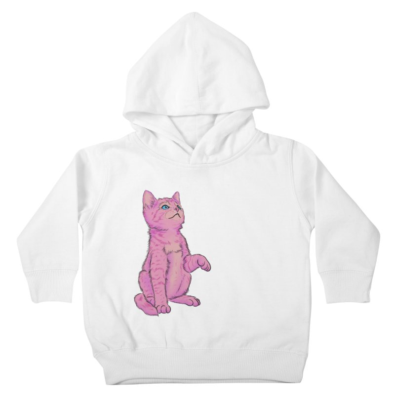 baby meow Kids Toddler Pullover Hoody by Bad Girl/Sad Girl