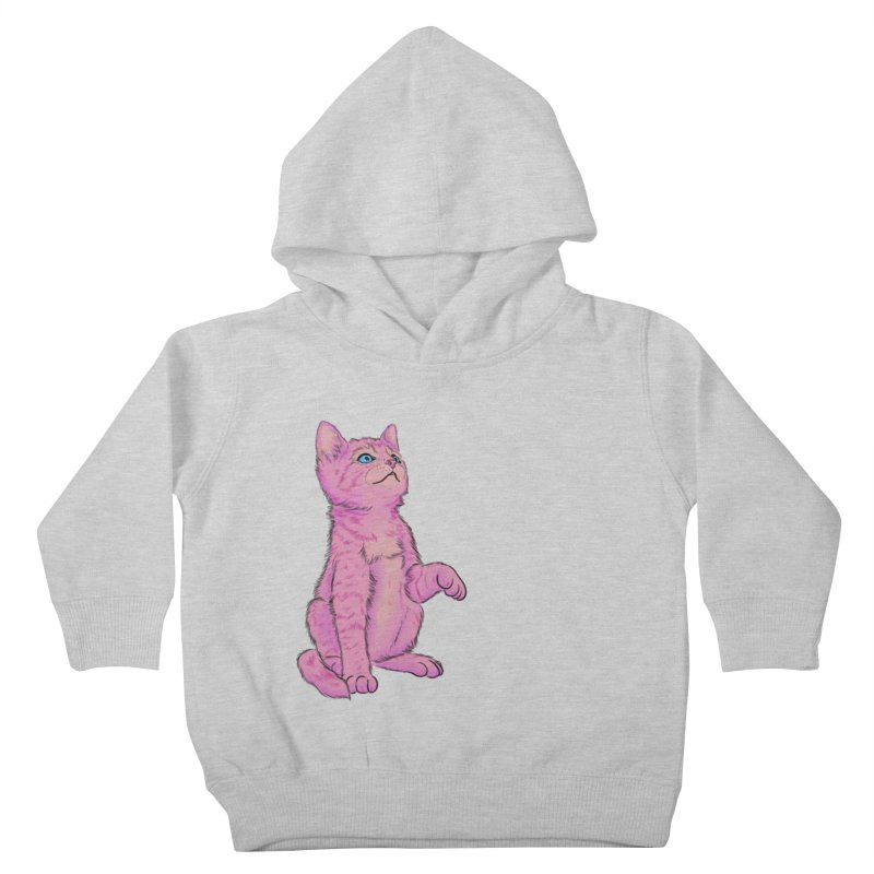 baby meow Kids Toddler Pullover Hoody by badgirlsadgirl's Artist Shop