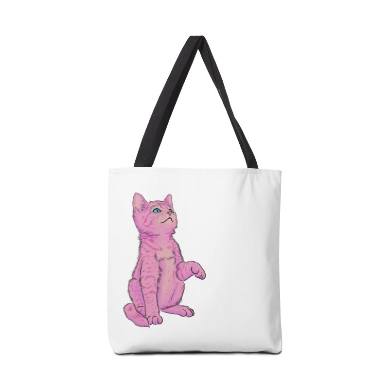 baby meow Accessories Tote Bag Bag by Bad Girl/Sad Girl