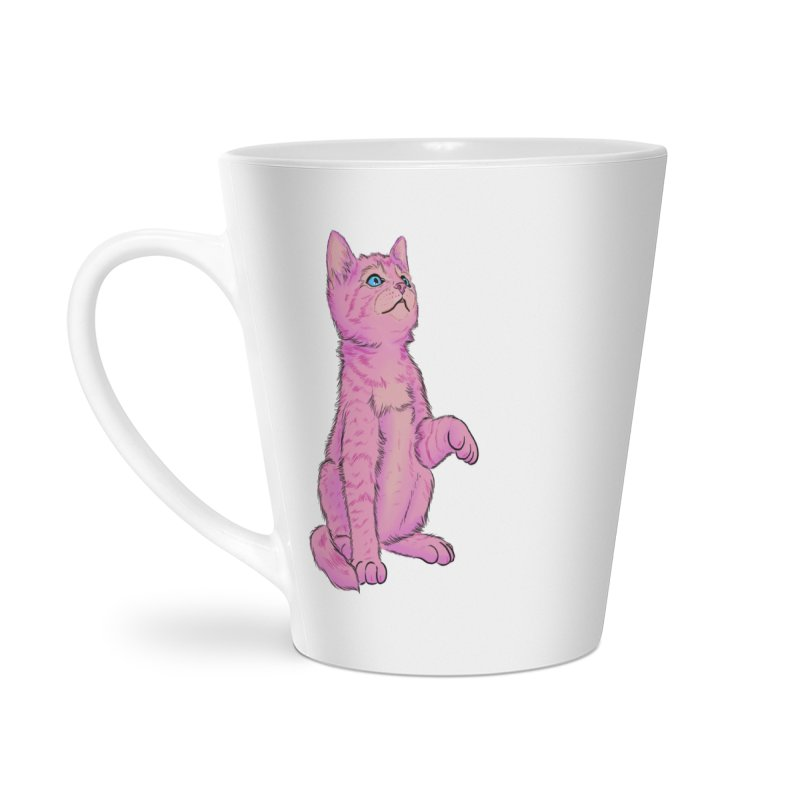 baby meow Accessories Latte Mug by badgirlsadgirl's Artist Shop