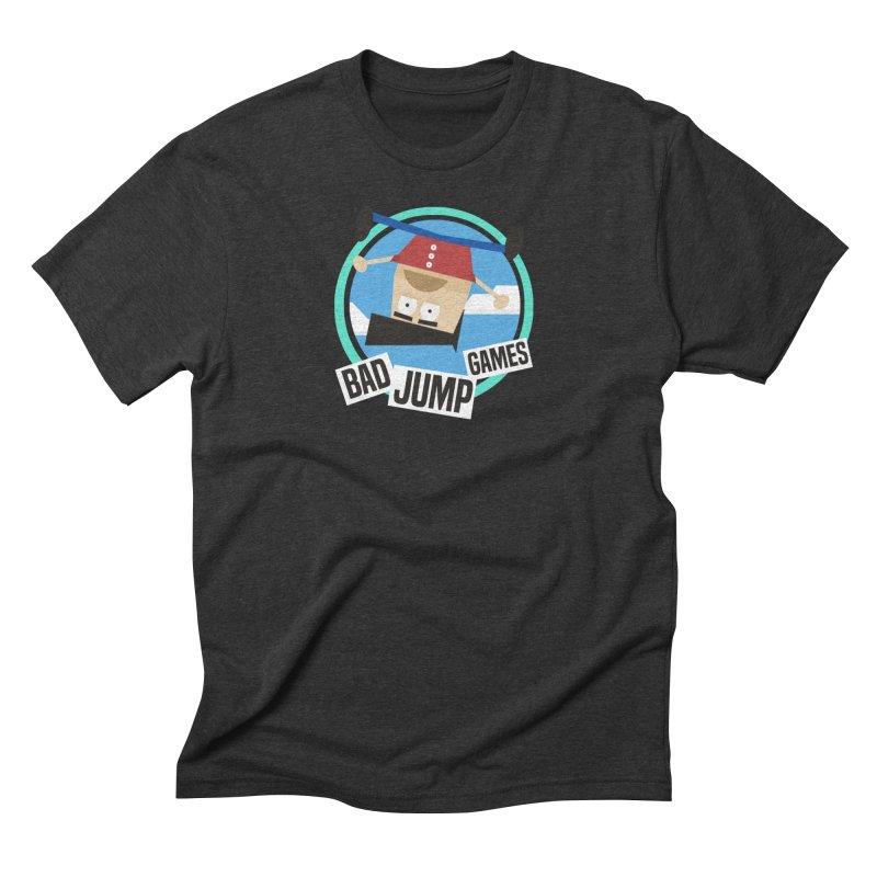 Bad Jump Games Logo Men's T-Shirt by Bad Jump Games Merch Shop