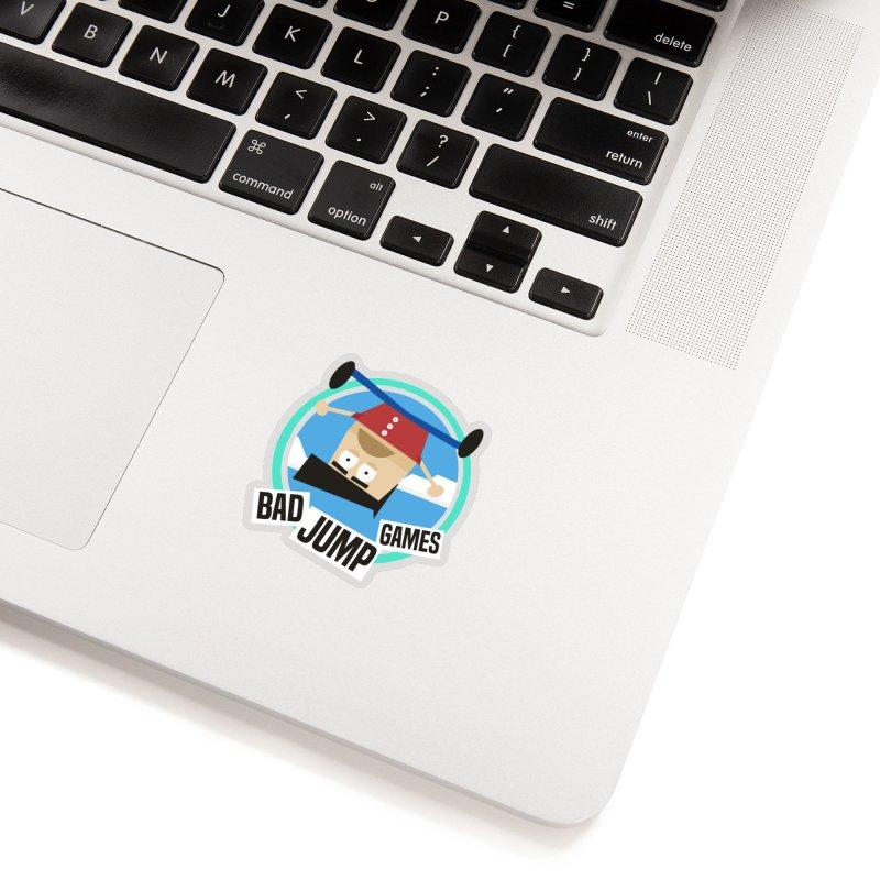 Bad Jump Games Logo Accessories Sticker by Bad Jump Games Merch Shop