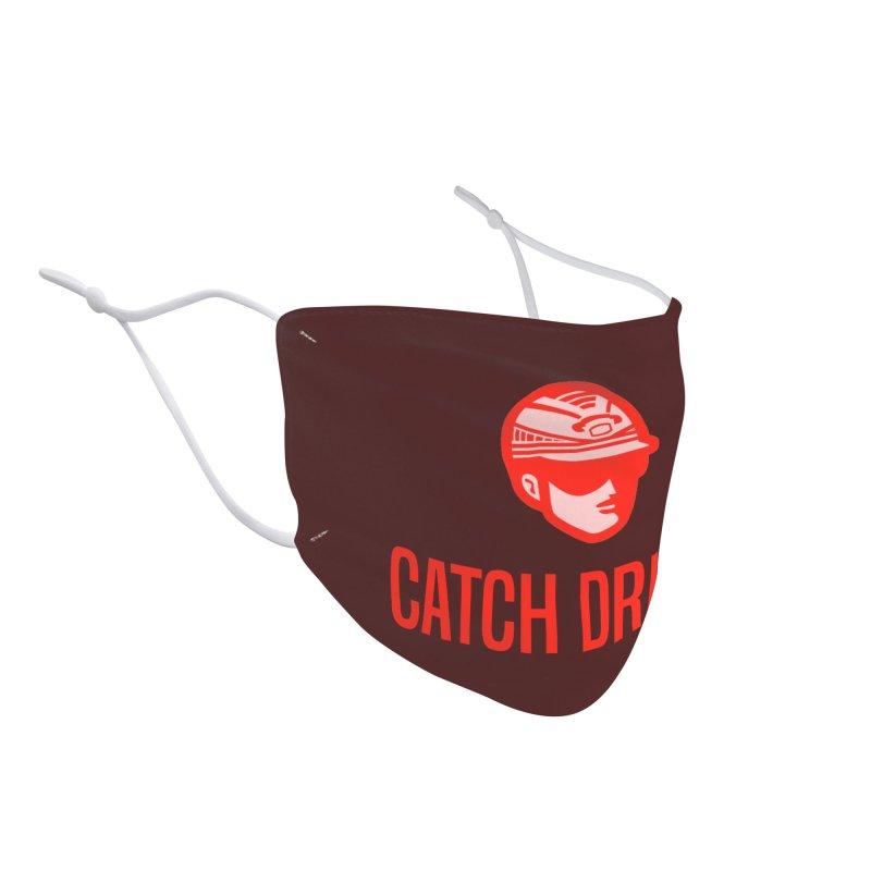Catch Driver Accessories Face Mask by Bad Jump Games Merch Shop