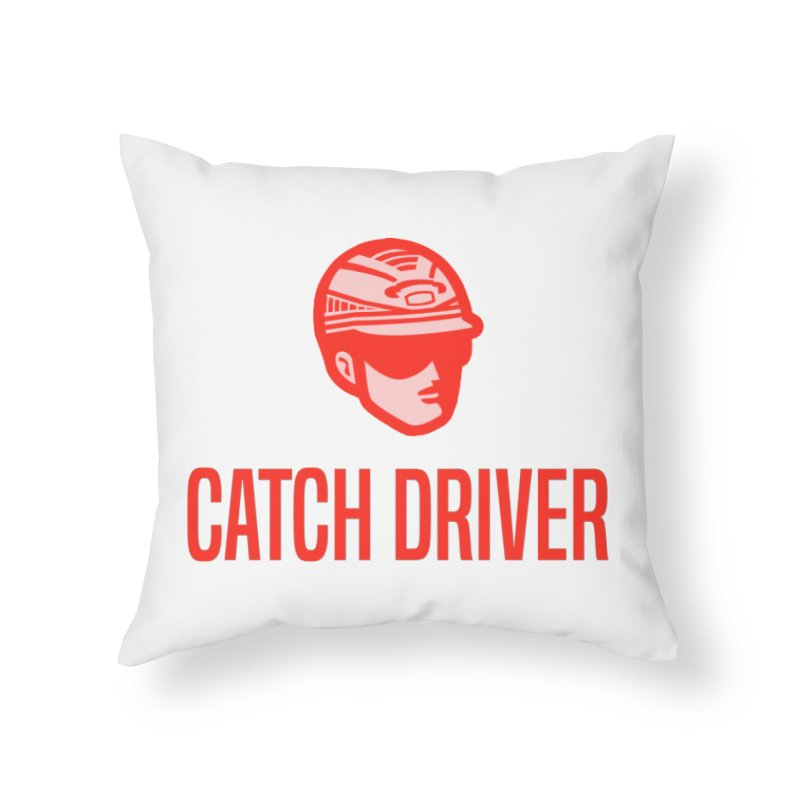 Catch Driver Home Throw Pillow by Bad Jump Games Merch Shop