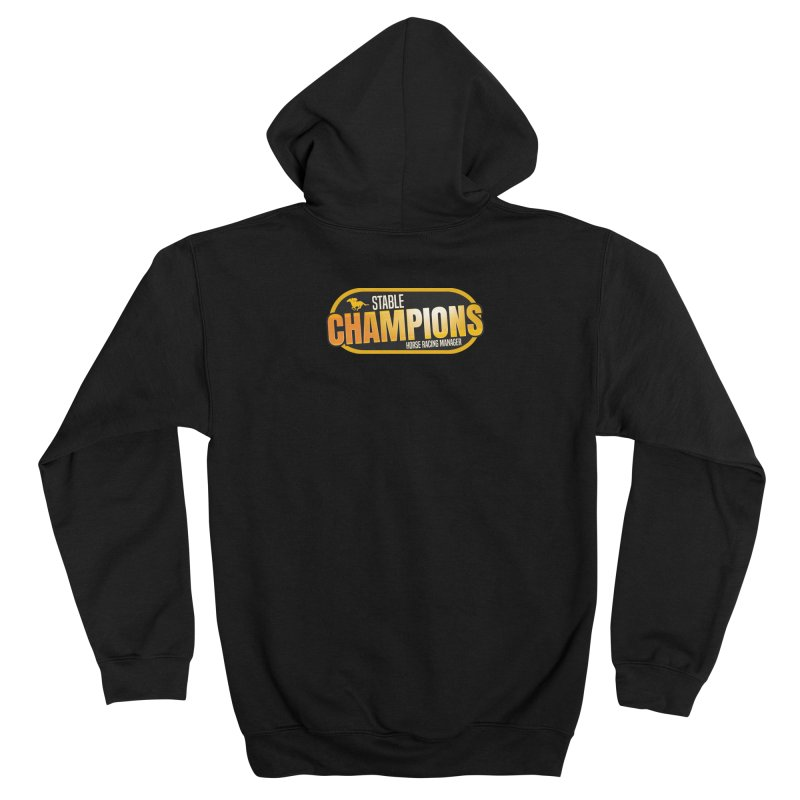 Stable Champions Women's Zip-Up Hoody by Bad Jump Games Merch Shop
