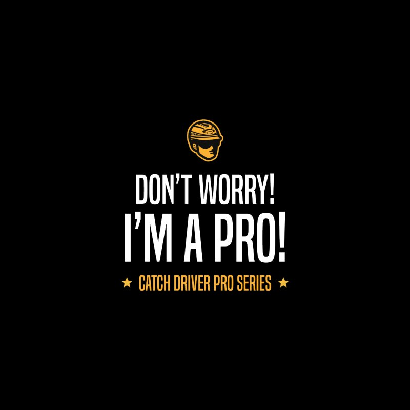 Don't Worry I'm a Pro - Catch Driver Pro Series Women's T-Shirt by Bad Jump Games Merch Shop